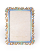 Jay Strongwater Leslie Bejeweled 5 x 7 Inch Picture Frame Oceana SPF5844-230