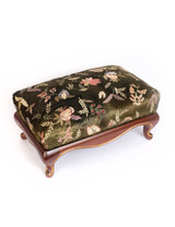 Jay Strongwater Melba Floral Ottoman Jewel SHW3316-450