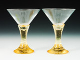 Fire and Light Martini Glass 7 oz.