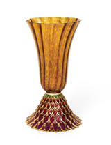 Jay Strongwater Sabrina Feather Vase Bouquet SDH2398-289