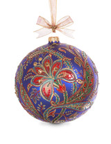 Jay Strongwater 2017 Opulent Glass Ornament Jewel SDH2257-250