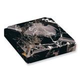 Black Solid Marble Square Cigar Ashtray GL8463 UPC: 797140583035