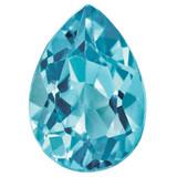 Blue Zircon 5X3Mm Pear Aa Quality Gemstone BZ-0503-PSF-AA