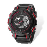 Wrist Armor Black Digital Display Dial & Black Rubber Strap Watch XWA5356 UPC: 603679202647