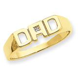Diamond Men'S Ring 14k Gold Y1612AA UPC: 886774134659