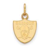 NFL Oakland Raiders x-Small Pendant 10k Yellow Gold, MPN: 1Y001RAI