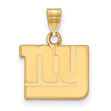 NFL New York Giants Small Pendant 10k Yellow Gold, MPN: 1Y002GIA