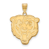 NFL Chicago Bears Large Pendant 10k Yellow Gold, MPN: 1Y004BEA