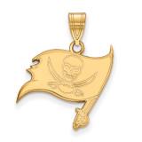 NFL Tampa Bay Buccaneers Medium Pendant 14k Yellow Gold, MPN: 4Y003BUC