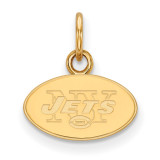 NFL New York Jets x-Small Pendant Gold-plated on Silver, MPN: GP001JET, UPC: 191101425394