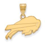 NFL Buffalo Bills Medium Pendant Gold-plated on Silver, MPN: GP003BIL, UPC: 191101423017