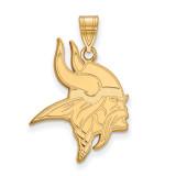 NFL Minnesota Vikings Medium Pendant Gold-plated on Silver, MPN: GP003VIK, UPC: 191101427657