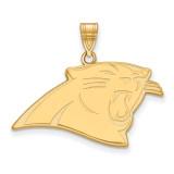 NFL Carolina Panthers Large Pendant Gold-plated on Silver, MPN: GP004PAN, UPC: 191101425905