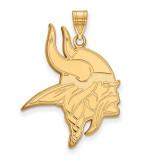 NFL Minnesota Vikings Large Pendant Gold-plated on Silver, MPN: GP004VIK, UPC: 191101427664