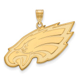 NFL Philadelphia Eagles x-Large Pendant Gold-plated on Silver, MPN: GP005EAG, UPC: 191101424632