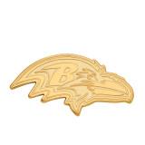 NFL Baltimore Ravens x-Large Pendant Gold-plated on Silver, MPN: GP005RAV, UPC: 191101426551