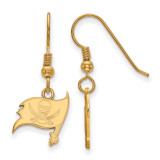 NFL Tampa Bay Buccaneers x-Small Dangle Earrings Wire Gold-plated on Silver, MPN: GP008BUC, UPC: 191101423543