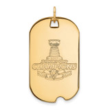 NHL 2017 Stanley Cup Champion Pittsburgh Penguins Large Pendant Gold-plated on Silver, MPN: GP009PEN17
