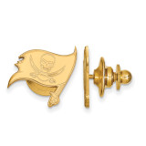 NFL Tampa Bay Buccaneers Lapel Pin Gold-plated on Silver, MPN: GP015BUC, UPC: 191101423611