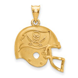 NFL Tampa Bay Buccaneers Helmet Pendant Gold-plated on Silver, MPN: GP505BUC, UPC: 634401930071