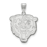 NFL Chicago Bears Large Pendant Sterling Silver, MPN: SS004BEA, UPC: 191101417580