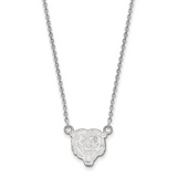 Chicago Bears Small Pendant with Necklace - Sterling Silver SS011BEA-18