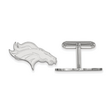 Denver Broncos Cufflinks - Sterling Silver SS014BRO