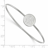 Florida State University Bangle Slip on - Sterling Silver SS014FSU-6