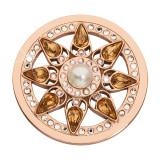 Nikki Lissoni Everlasting Star Rose Gold-plated 33mm Coin MPN: C1623RGM UPC: C1623RGM_NIK
