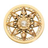 Nikki Lissoni Everlasting Star Gold-plated 33mm Coin MPN: C1623GM UPC: C1623GM_NIK