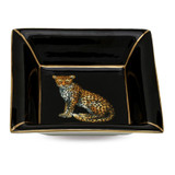 Halcyon Days Twin Leopards Square Tray, MPN: BCMWL02STG, EAN: 5060171158257