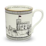 Halcyon Days Windsor Castle Mug, MPN: BCWIN03MGG, EAN: 5060171155317