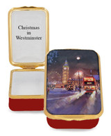 Halcyon Days Christmas in Westminster Enamel Box, MPN: ENCIW0623G, EAN: 5060171159247