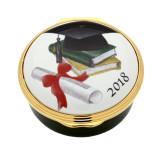 Halcyon Days 2018 Graduation Enamel Box, MPN: ENGR180901G, EAN: 5060171161813