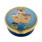 Halcyon Days Old MacDonald Enamel Box, MPN: ENOMC0601G, EAN: 5060171163282