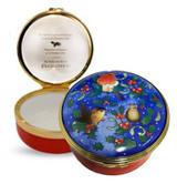 Halcyon Days Christmas Robin Enamel Box, MPN: ENROB0601G, EAN: 5060171160915