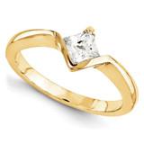 Wedding Set Mounting Ring Band Bezel Princess Bezel 10k Yellow Gold Engagement Raw Casting, MPN: 1YM630-1