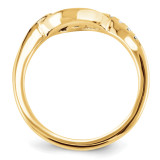 Engagement Mounting Ring Band 10k Yellow Gold Raw Casting 1YM691-1