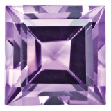 Amethyst 3mm Square Step Cut Gemstone, MPN: AM-0300-SQS-AA