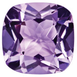 Amethyst 5mm Sq Cush Gemstone, MPN: AM-0500-CUF-AA