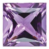 Amethyst 5mm Princess Gemstone, MPN: AM-0500-SQP-AA
