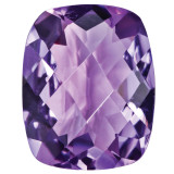 Amethyst 9X7mm Cushion Checkerboard Gemstone, MPN: AM-0907-CUX-AA