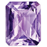 Amethyst 10X8mm Octagon Checkerboard Gemstone, MPN: AM-1008-OCX-AA