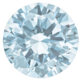 Aquamarine 2mm Round Gemstone, MPN: AQ-0200-RDF-AA