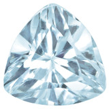 Aquamarine 4mm Trillion Gemstone, MPN: AQ-0400-TRF-A