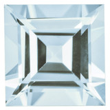 Aquamarine 5mm Square Step Cut Gemstone, MPN: AQ-0500-SQS-AA