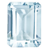 Aquamarine 5X3mm Emerald Cut Gemstone, MPN: AQ-0503-OCE-A