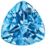 Blue Topaz 4mm Trillion Gemstone, MPN: BT-0400-TRF-AA