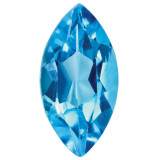 Blue Topaz 4X2mm Marquise Gemstone, MPN: BT-0402-MQF-AA