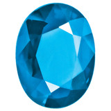 Blue Topaz 4X3mm Oval Gemstone, MPN: BT-0403-OVF-AA